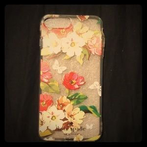 Kate Spade 7+ and 8+ floral phone case.